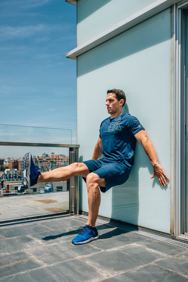 Yo entreno en casa /Día 12: ejercicios avanzados en pared