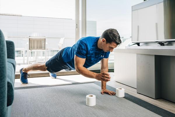 Yo entreno en casa / Día 7: Papel higiénico